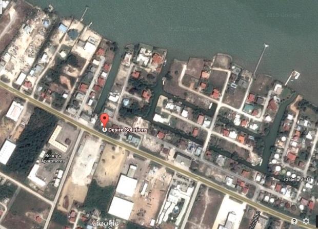 Локацијата на Белизе на трите оф-шор компании