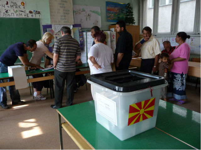 polling stations and ballot box mac elections 2011