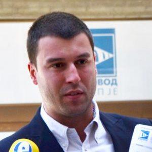 Директорот на Водовод и канализација, Александар Атанасов
