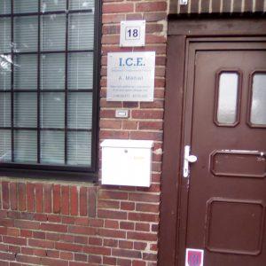 На местото има само магацин од друга компанија, ICE, која се занимава со трговија и извоз на производи за ладење и климатизација