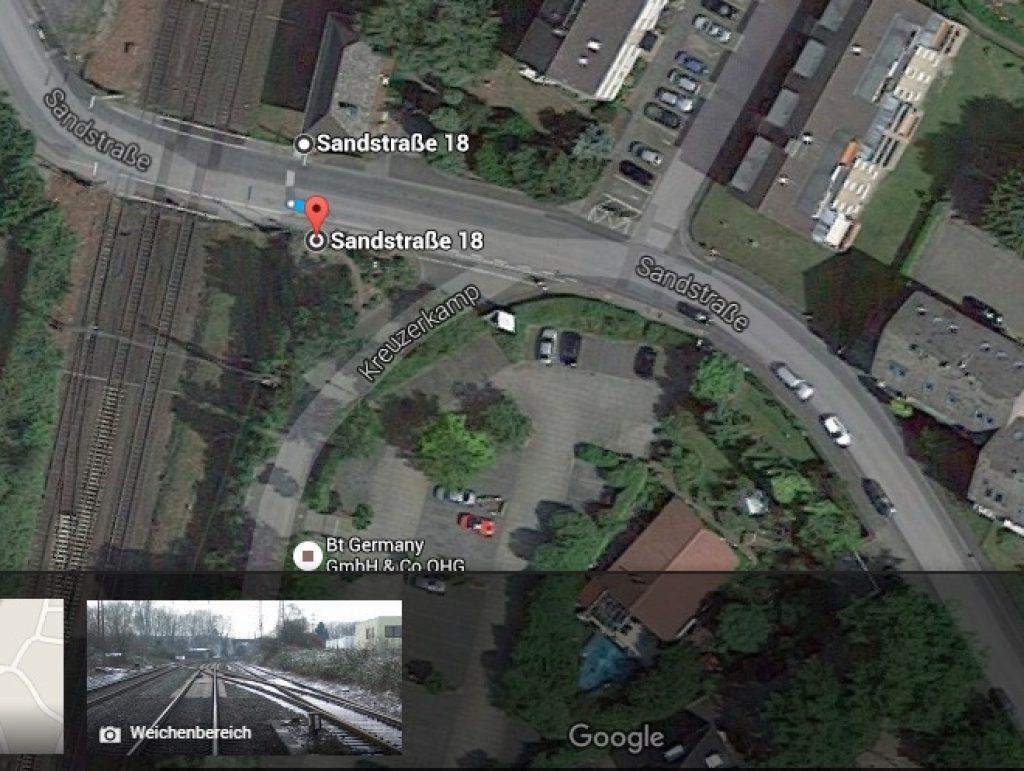 Седиштето на компанијата според Google maps