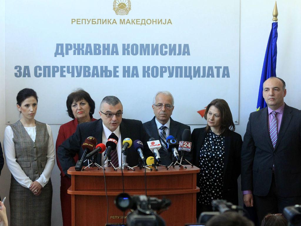 Последната прес-конференција на Антикорупциската комисија беше одржана во април минатата година | Фото: МИА
