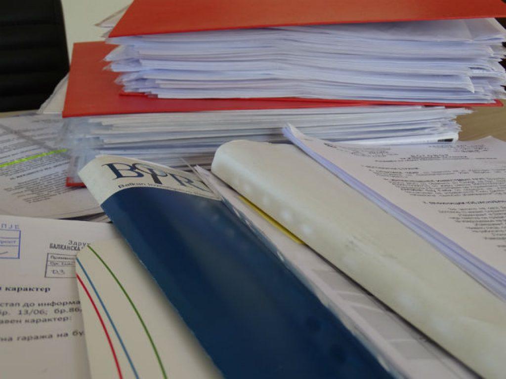 БИРН располага со стотици документи од најголемиот број договори склучени за грандиозниот проект Скопје 2014 | Фото: БИРН
