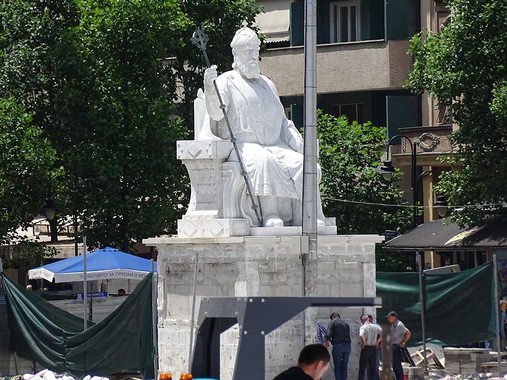 Во случајот на споменикот на Цар Самоил, по сите овие процедури - последна доаѓа онаа што според законот требало да биде прва / Фото: БИРН