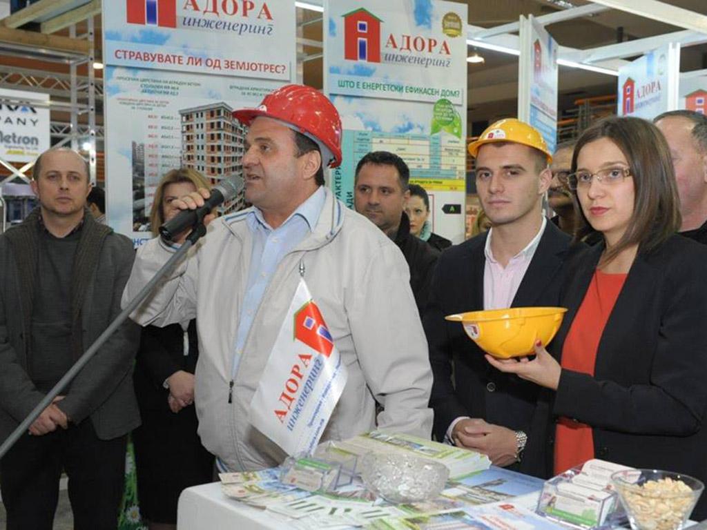 """Ванчо Чифлиганец води две градежни компании под брендот """"Адора"""" / Фото: Официјална Фејсбук страница на """"Адора"""""""