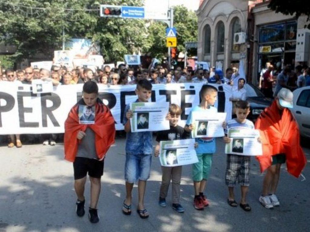 Од протестот во Куманово. Фото: Фејсбук