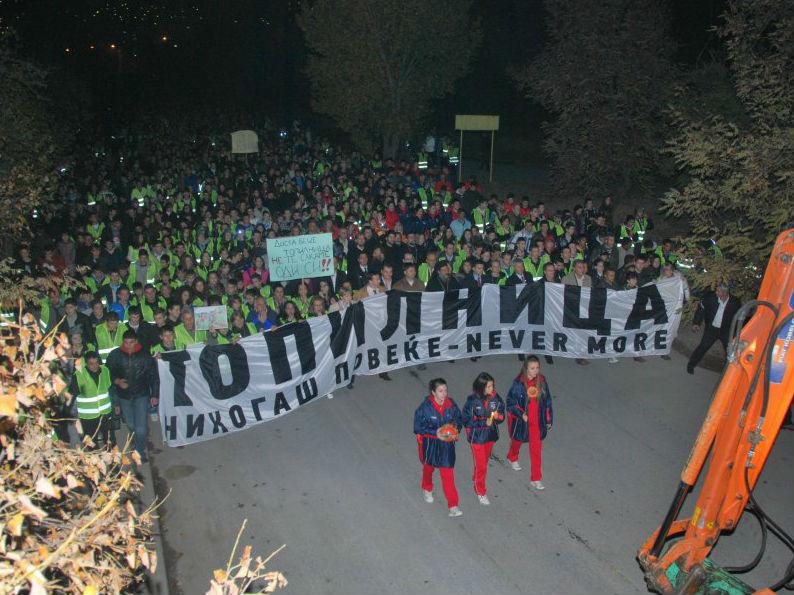 Protest Topilnica