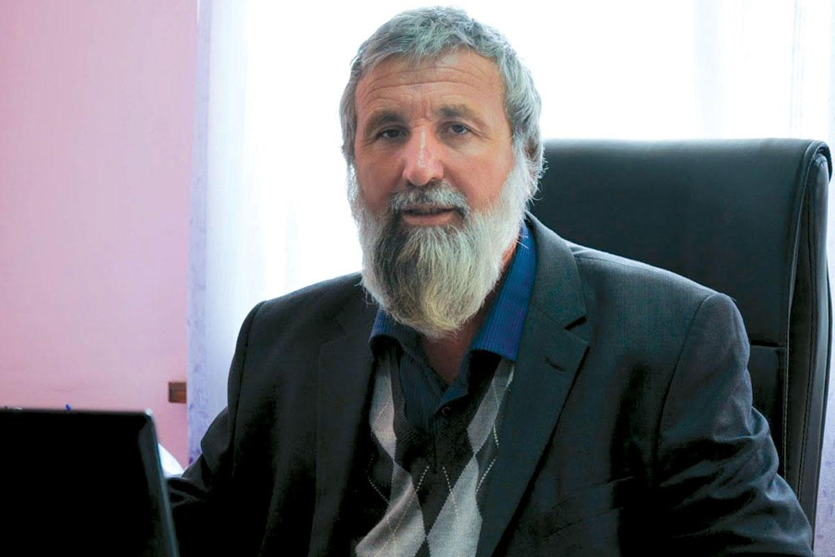 Абдулах Салих, главниот муфтија во регионот Пазарџик, во неговата канцеларија во градот Велинград на 11 јуни 2015. Фото: Зорница Стоилова