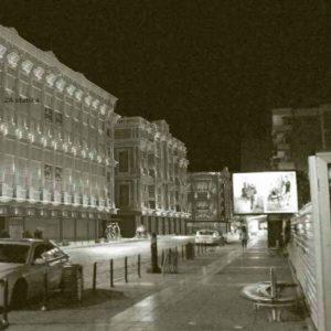 Вкупно 46 коринтски столба на фасадата на улица Македонија број 13