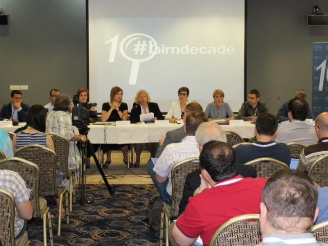 Раководниот тим на БИРН, како и медиумски експерти, се собраа во босанскиот главен град за да дискутираат за клучните предизвици кои се однесуваат на овој сектор