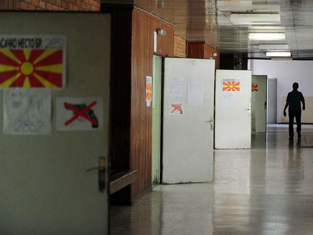"""За референдумот да биде успешен, """"ЗА"""" задржување на автентичниот изглед за ГТЦ на гласање требаше да излезат околу 22.000 граѓани   Фото: Роберт Атанасовски"""