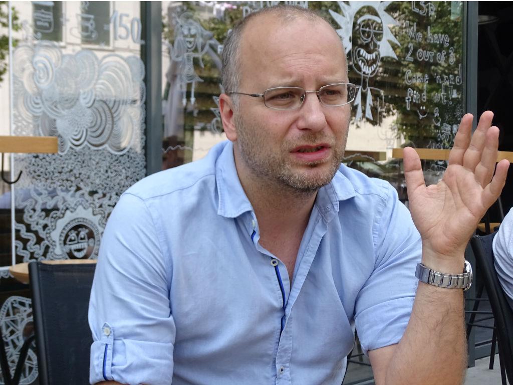Игор Трајковски, основачот на Тајм.мк | Фото: БИРН