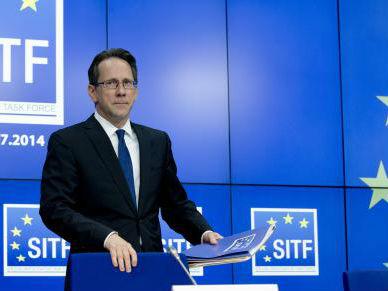 Клинт Вилијамсон, шеф на специјалниот истражен тим на ЕУ   Фото: Совет на Европа