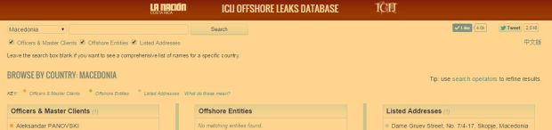 ofshore leaks
