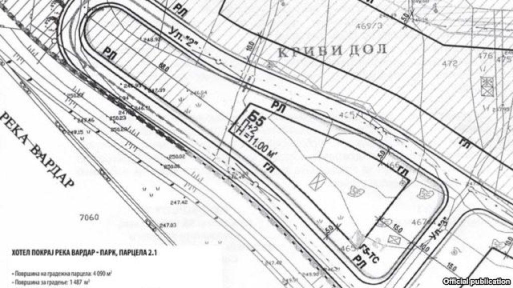 Урбанистичкиот план за парцелите покрај кејот на Вардар