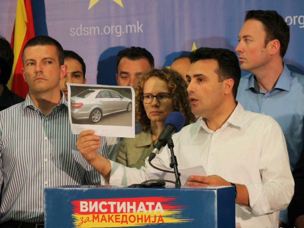 Заев смета дека треба да се испита и податокот дека таа вечер не работеле сигурносните камери на патарините | Фото: СДСМ