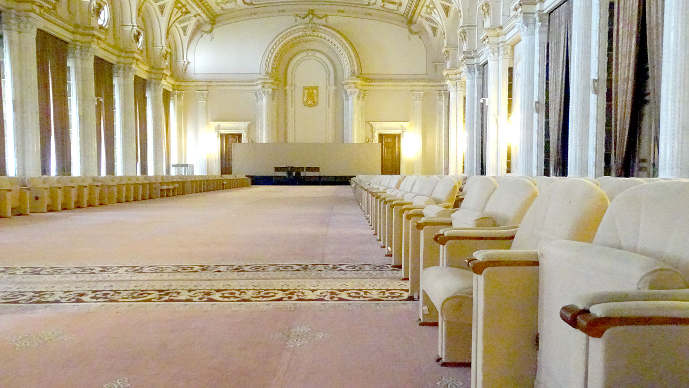 Една од помалите хали во Парламентот