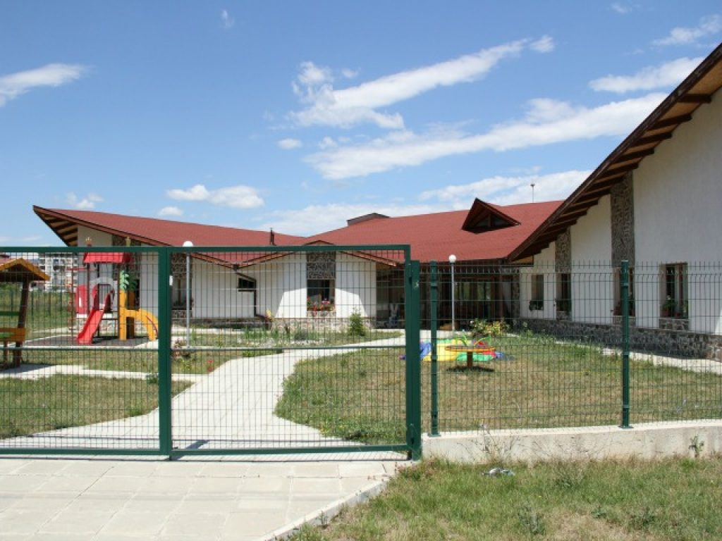 Нов дом за згрижување на децата со посебни потреби во Ботевград, на 60 километри североисточно од главниот град на Бугарија, Софија / Фото: Марија Милкова
