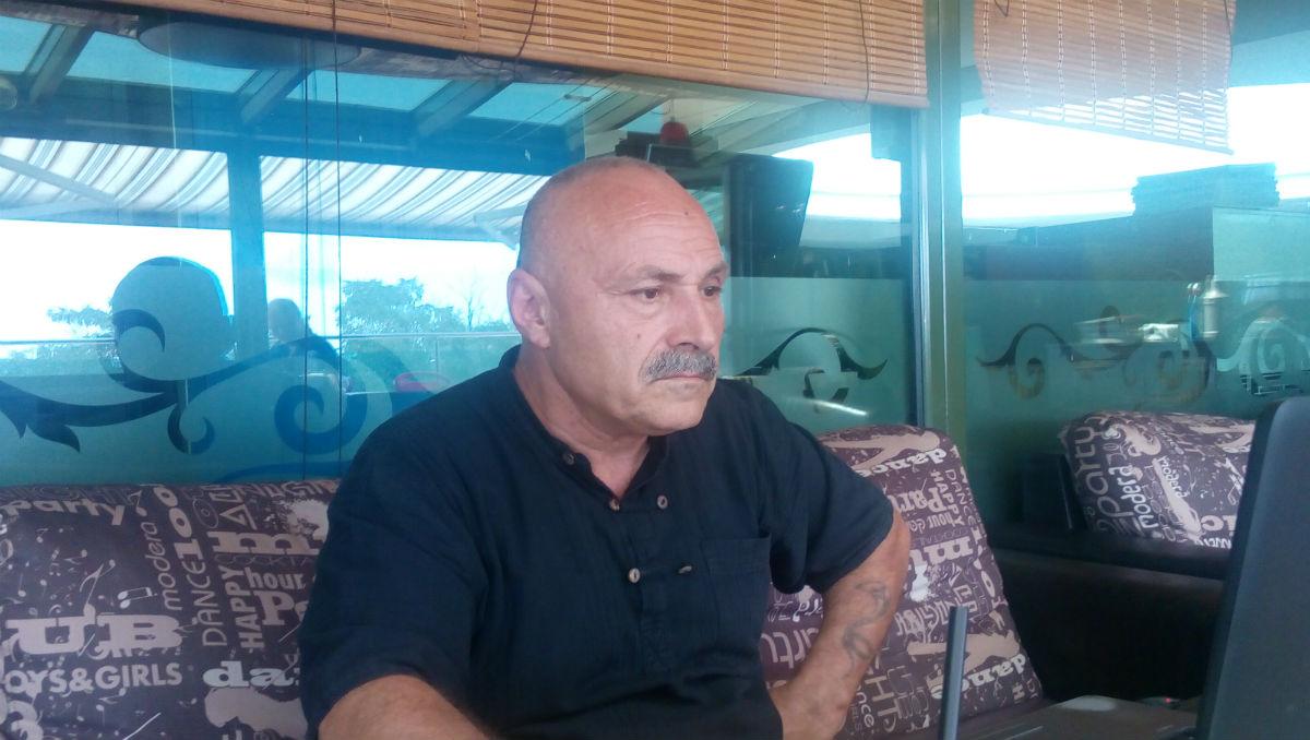 Владимир Русев, еден од основачите на Комитетот за национално спасување, што патролира и бара емигранти на бугарско-турската граница / Фото: Александрина Гинкова